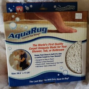 NEW Aqua RUG Tub Shower Mat
